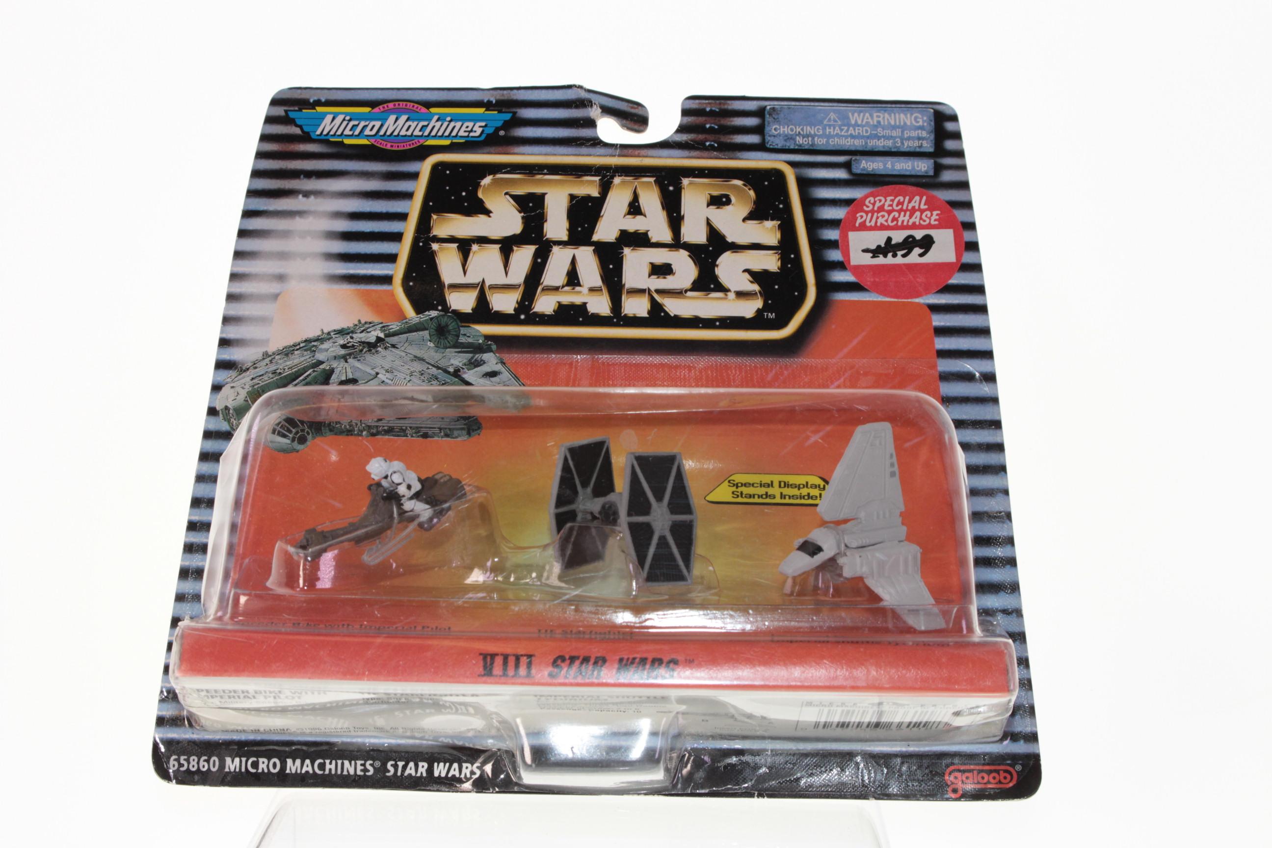 red green grey x-wing STAR WARS Micro Machine Loose lot set XIII 3pc