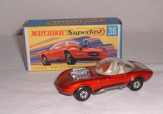Picture Gallery for Matchbox 36d Hot Rod