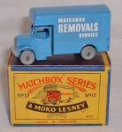 Bedford Removals Van