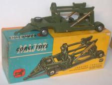Picture Gallery for Corgi 1117 Missile Trolley