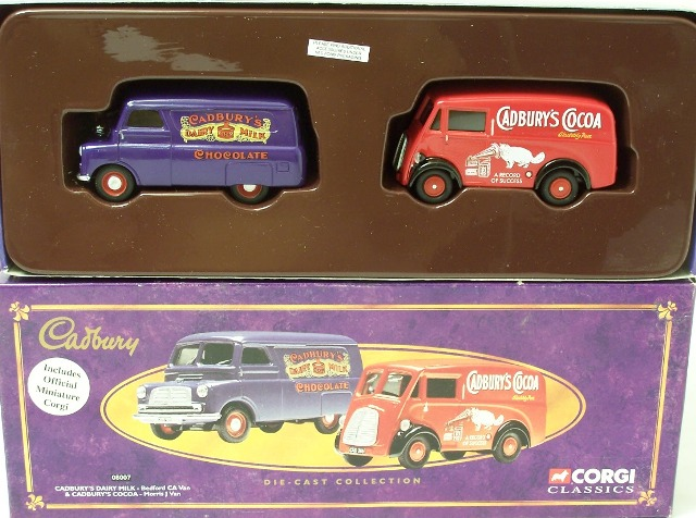 Picture Gallery for Corgi 08007 Delivery Van Set