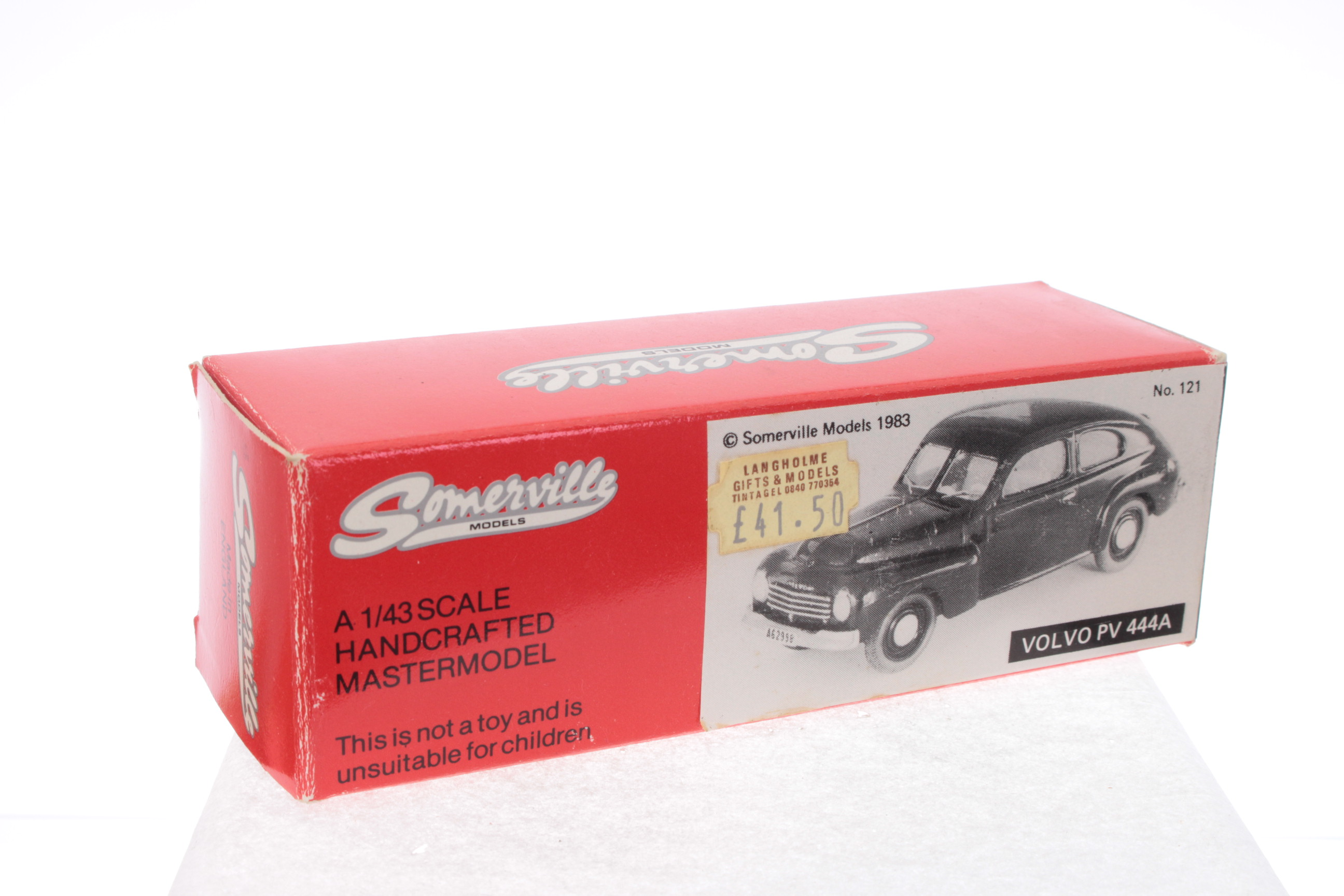 Picture Gallery for Somerville 121 Volvo PV 444A