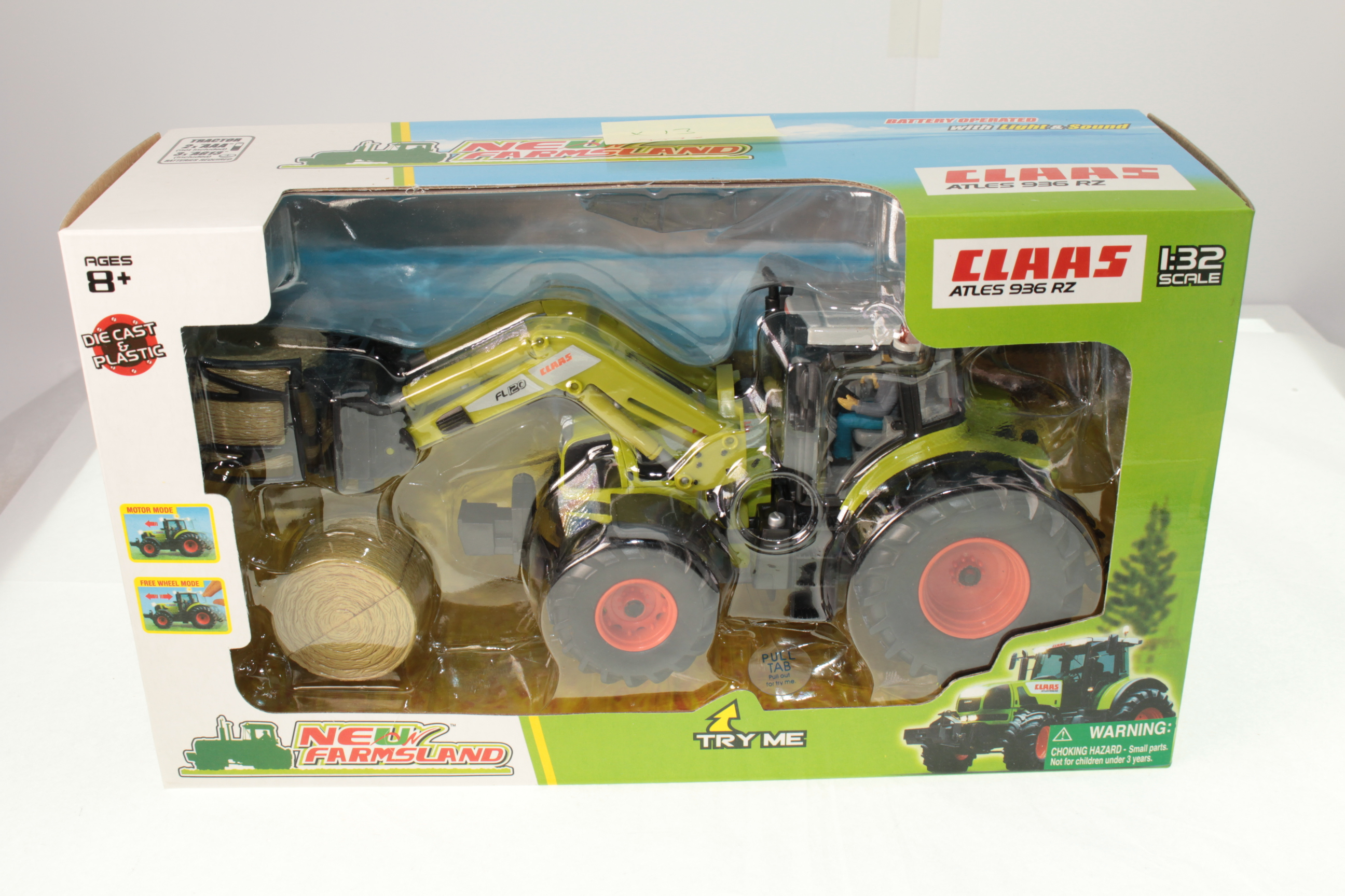 Picture Gallery for New Farmsland 72134 Claas Atles 936 RZ