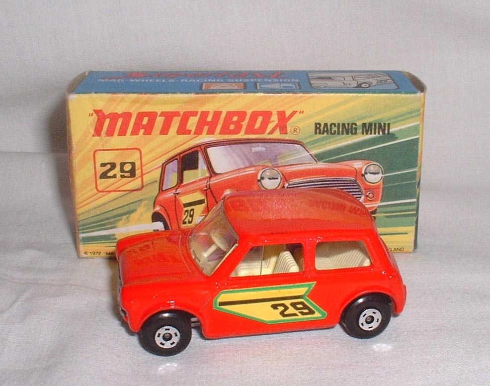 Matchbox 29d Racing Mini Free Price Guide Review