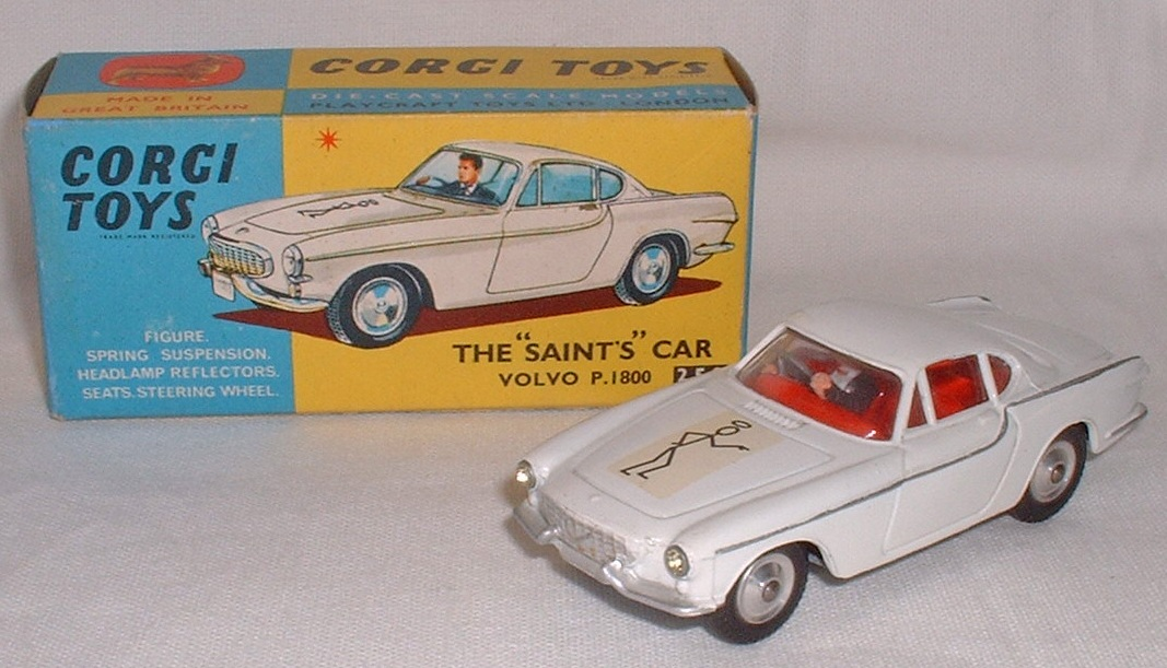 Picture Gallery for Corgi 258 The Saints Volvo P1800