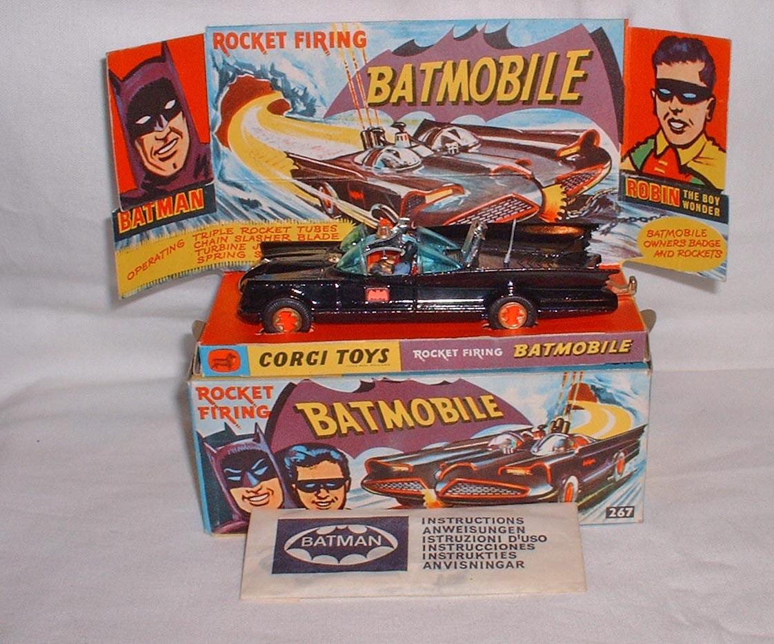 Picture Gallery for Corgi 267 Batmobile