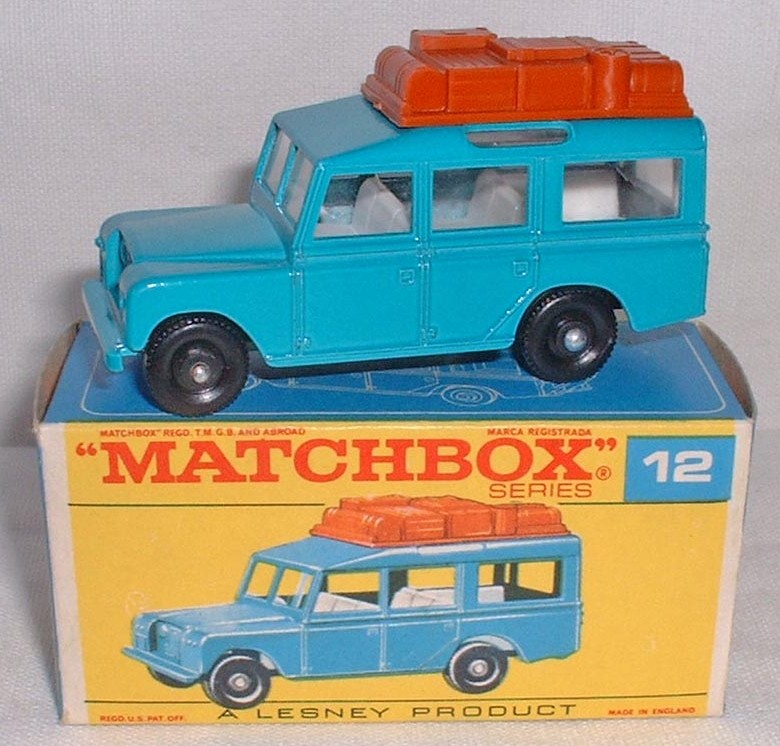 Matchbox 12c, Land Rover Safari
