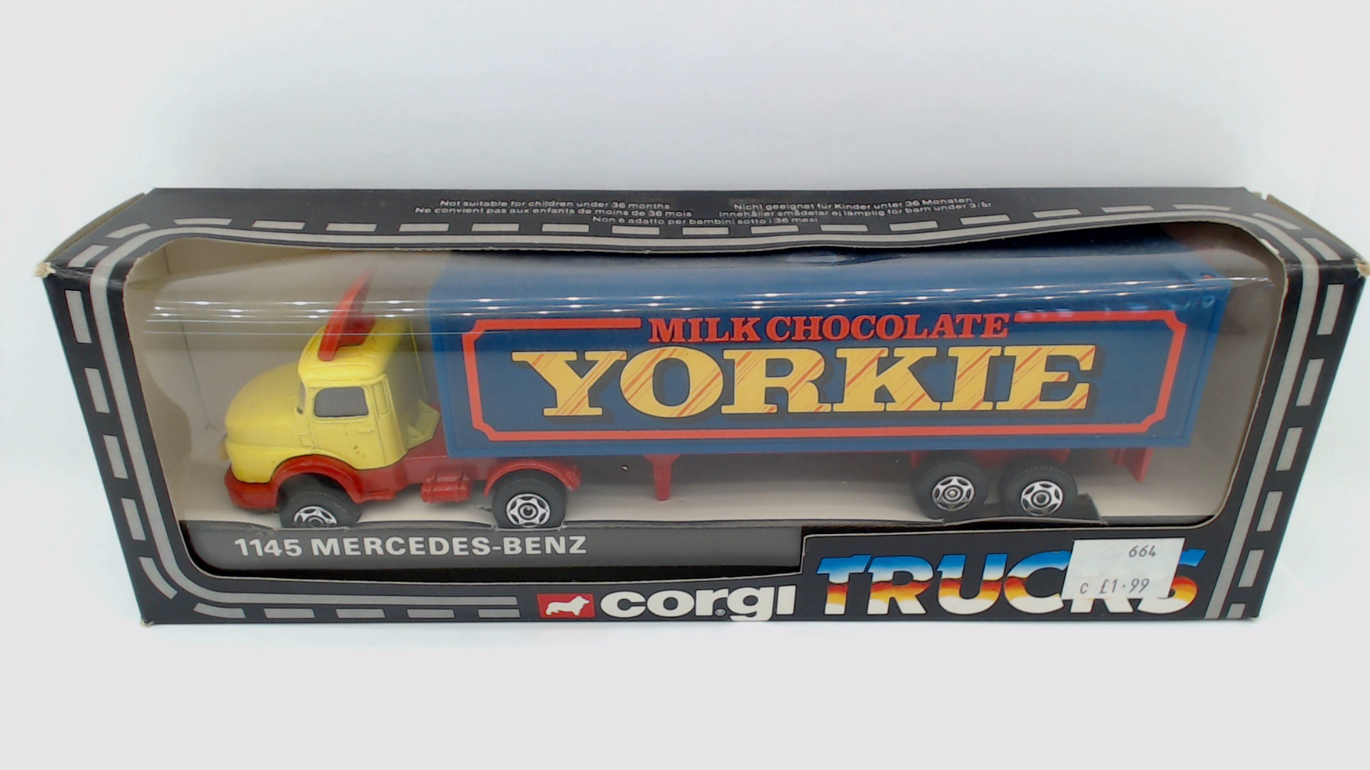 Picture Gallery for Corgi 1145 Mercedes Truck