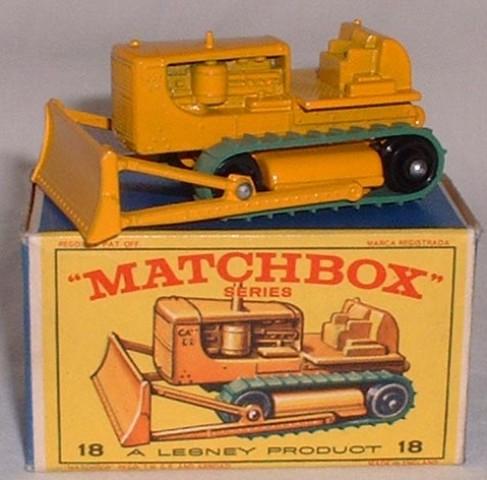 Picture Gallery for Matchbox 18d Caterpillar Bulldozer