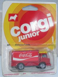 Picture Gallery for Corgi Juniors 87 Leyland Delivery Van