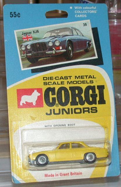 Picture Gallery for Corgi Juniors 39 Jaguar XJ6