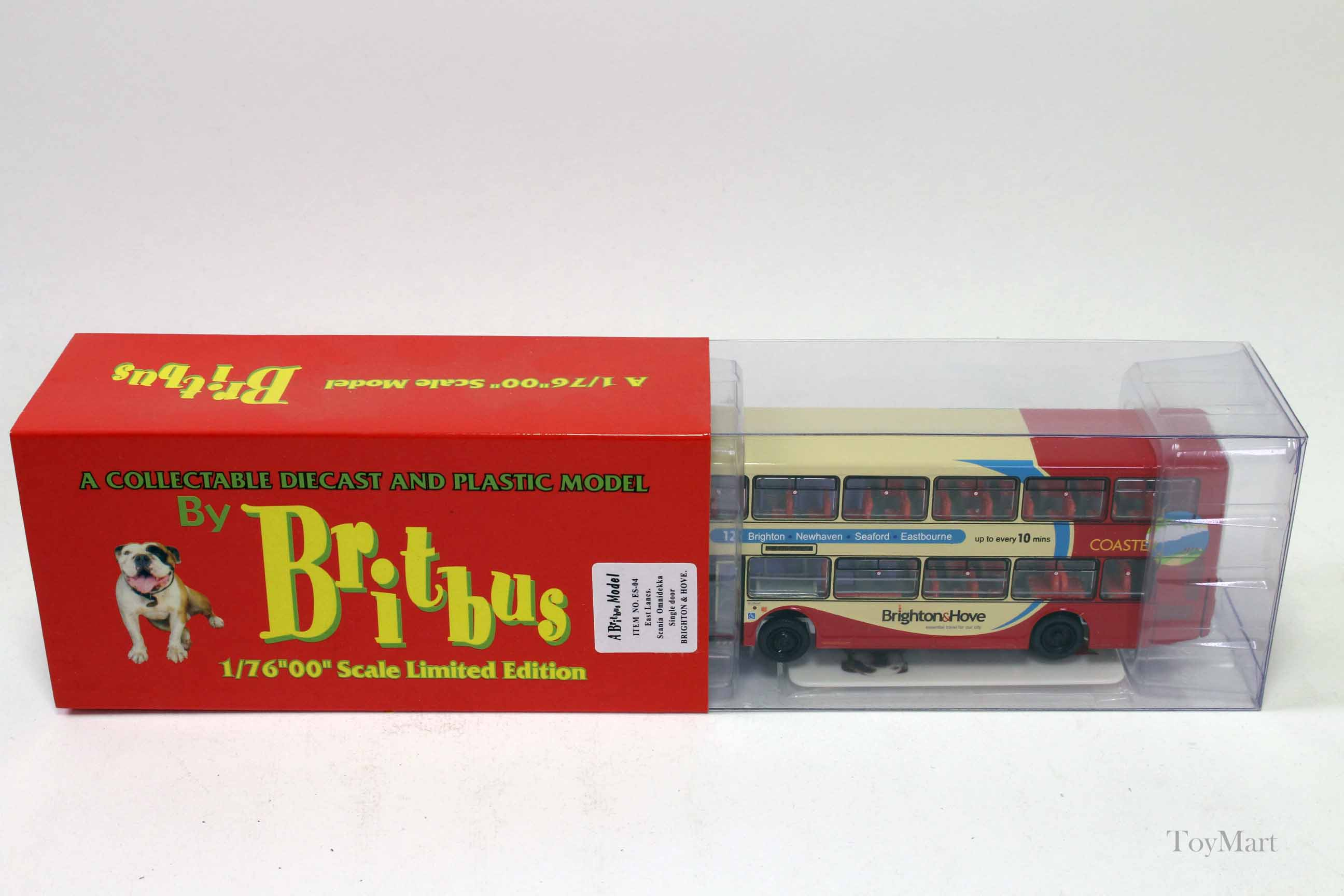 Picture Gallery for Britbus ES04 Scania Omnidekka