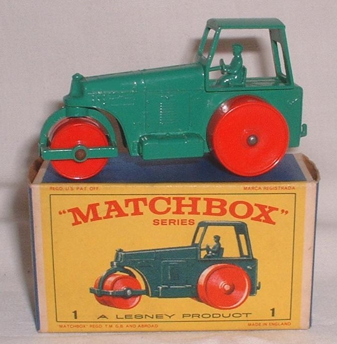 Picture Gallery for Matchbox 1d Diesel Road Roller