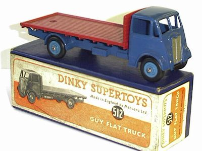 Picture Gallery for Dinky 512 Guy Flat Truck
