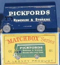 Pickford removal Van