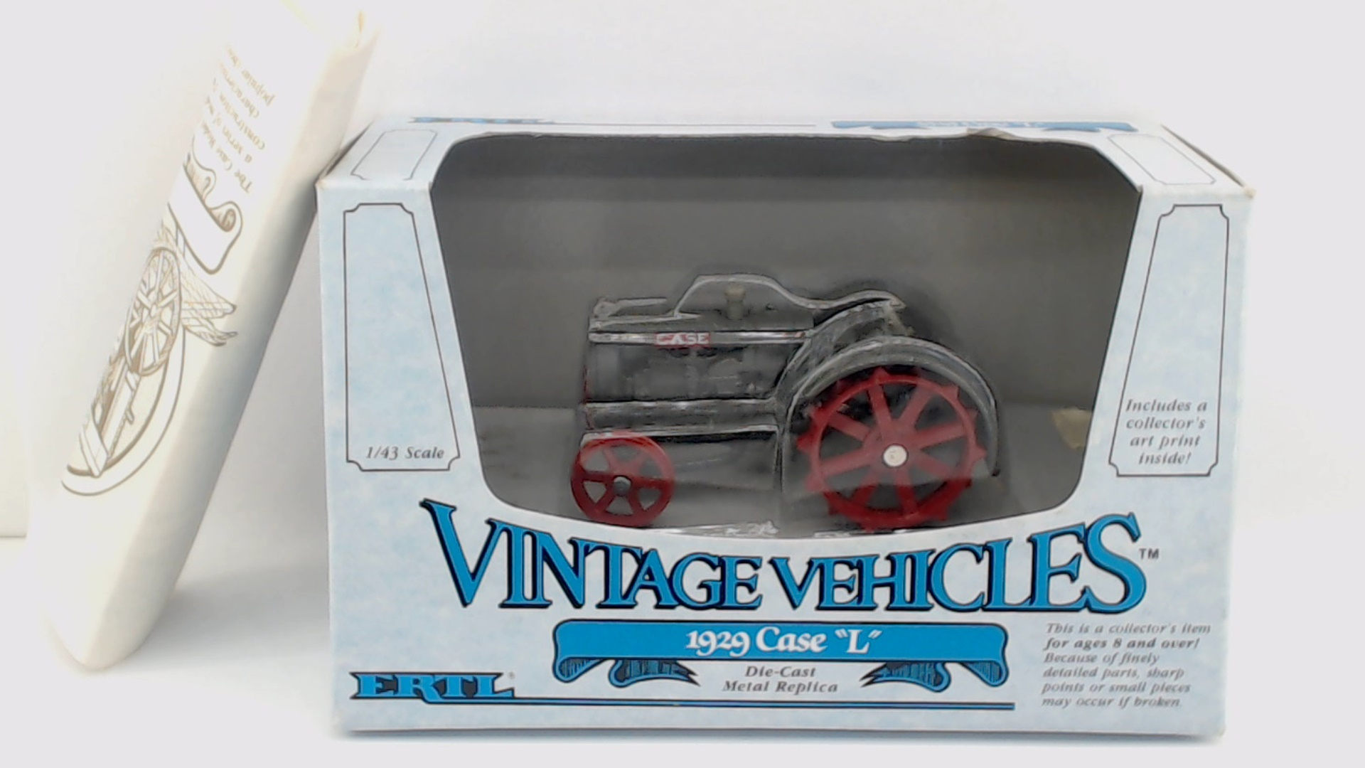 Picture Gallery for ERTL 2554 1929 Case L Tractor