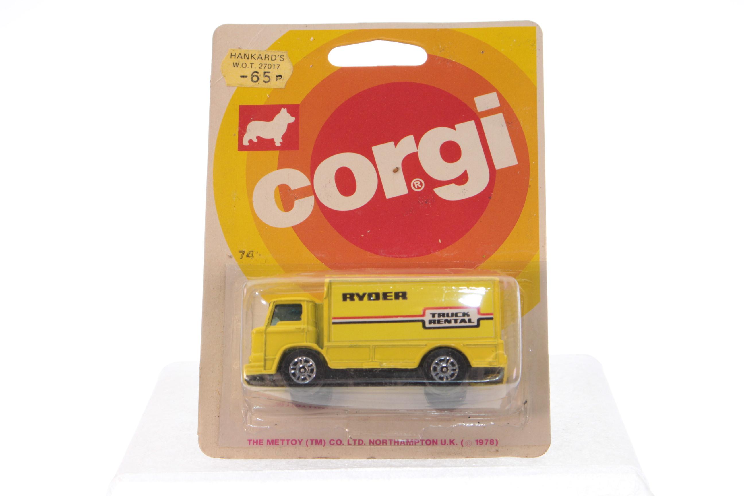 Picture Gallery for Corgi Juniors 74 Leyland Van - Ryder Truck Rental