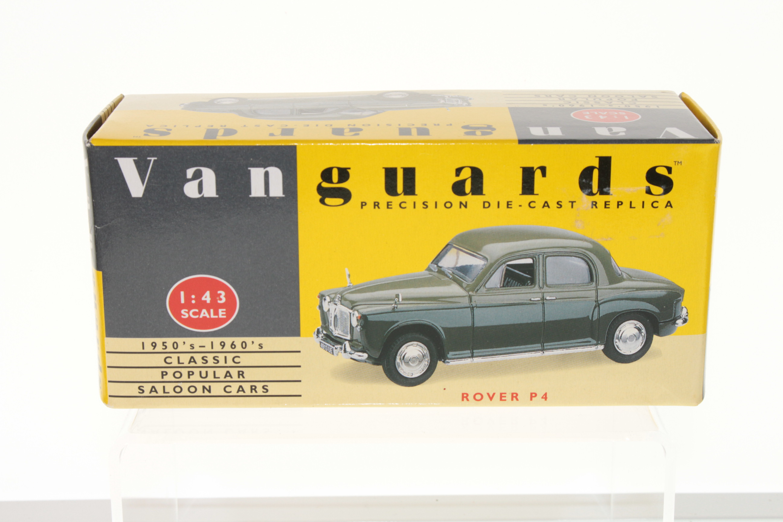 Vanguards VA19007, Rover P4 - Free Price Guide & Review