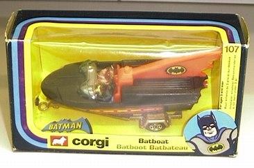 Repro Box Corgi Nr.107 Batboat