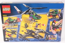Picture Gallery for Lego 6863 Batwing Battle Over Gotham City