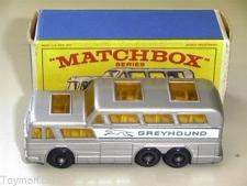 Picture Gallery for Matchbox 66c Greyhound Bus