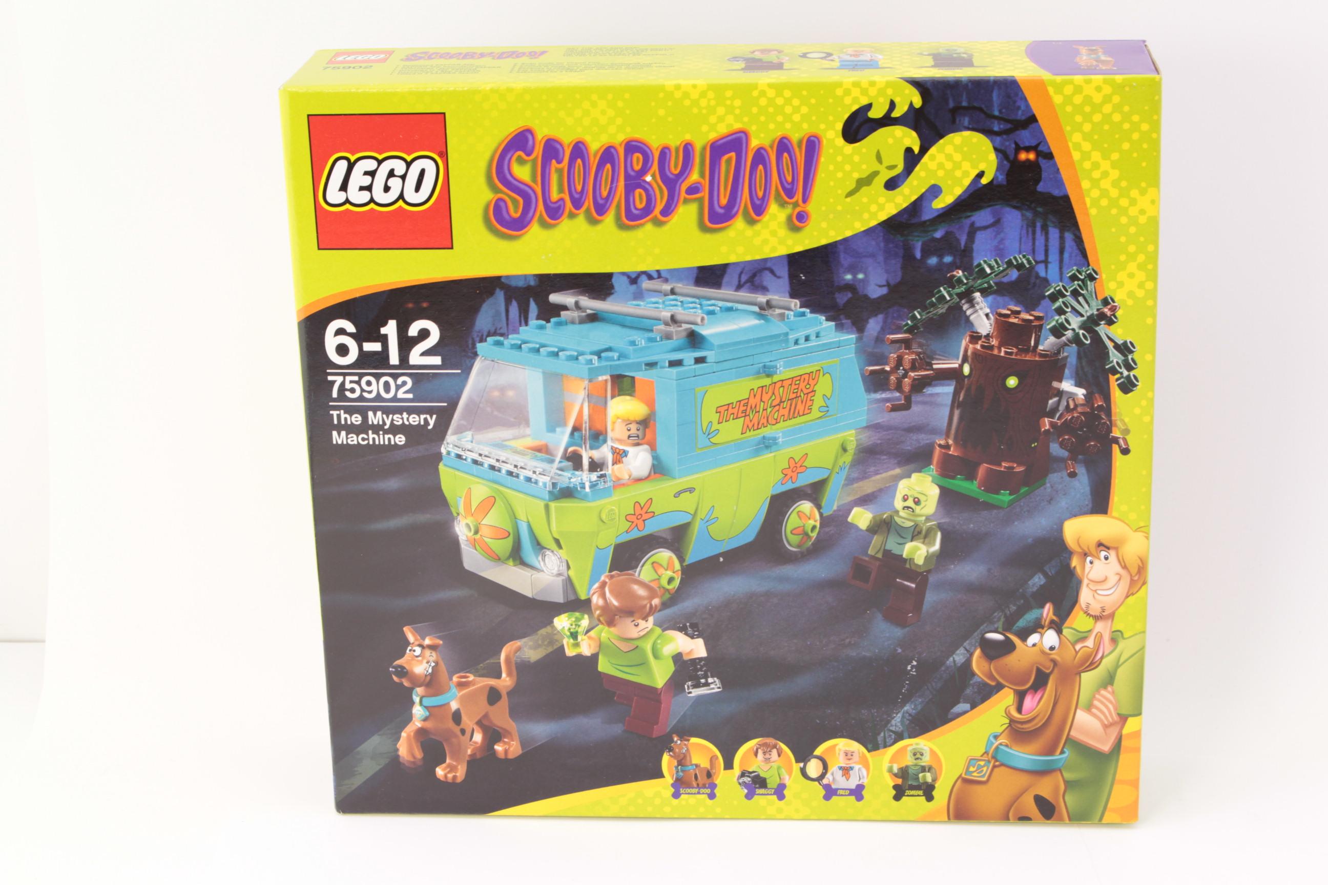 Scooby doo the The mystery machine Doo the mystery Lego 75902 scooby Blocks Toys