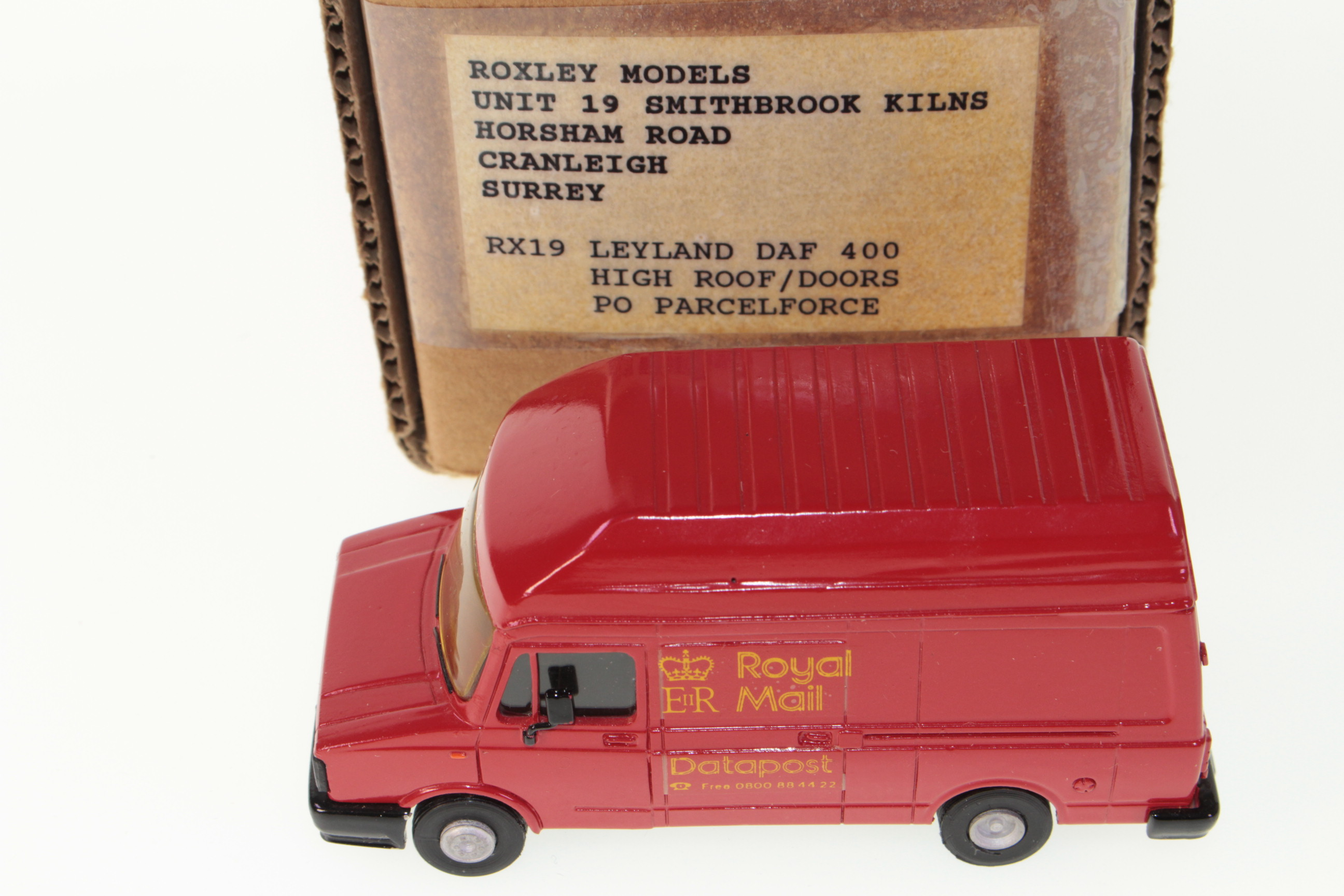 Picture Gallery for Roxley Models RX19 Leyland DAF 400