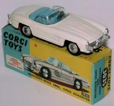 Picture Gallery for Corgi 303s Mercedes 300SL Roadster