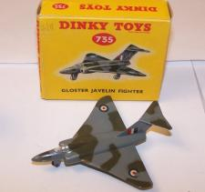 Picture Gallery for Dinky 735 Gloster Javelin