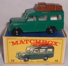 Picture Gallery for Matchbox 12c Land Rover Safari