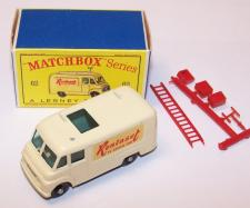Picture Gallery for Matchbox 62b Commer Rentaset Van