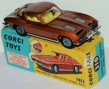 Picture Gallery for Corgi 310 Chevrolet Stingray