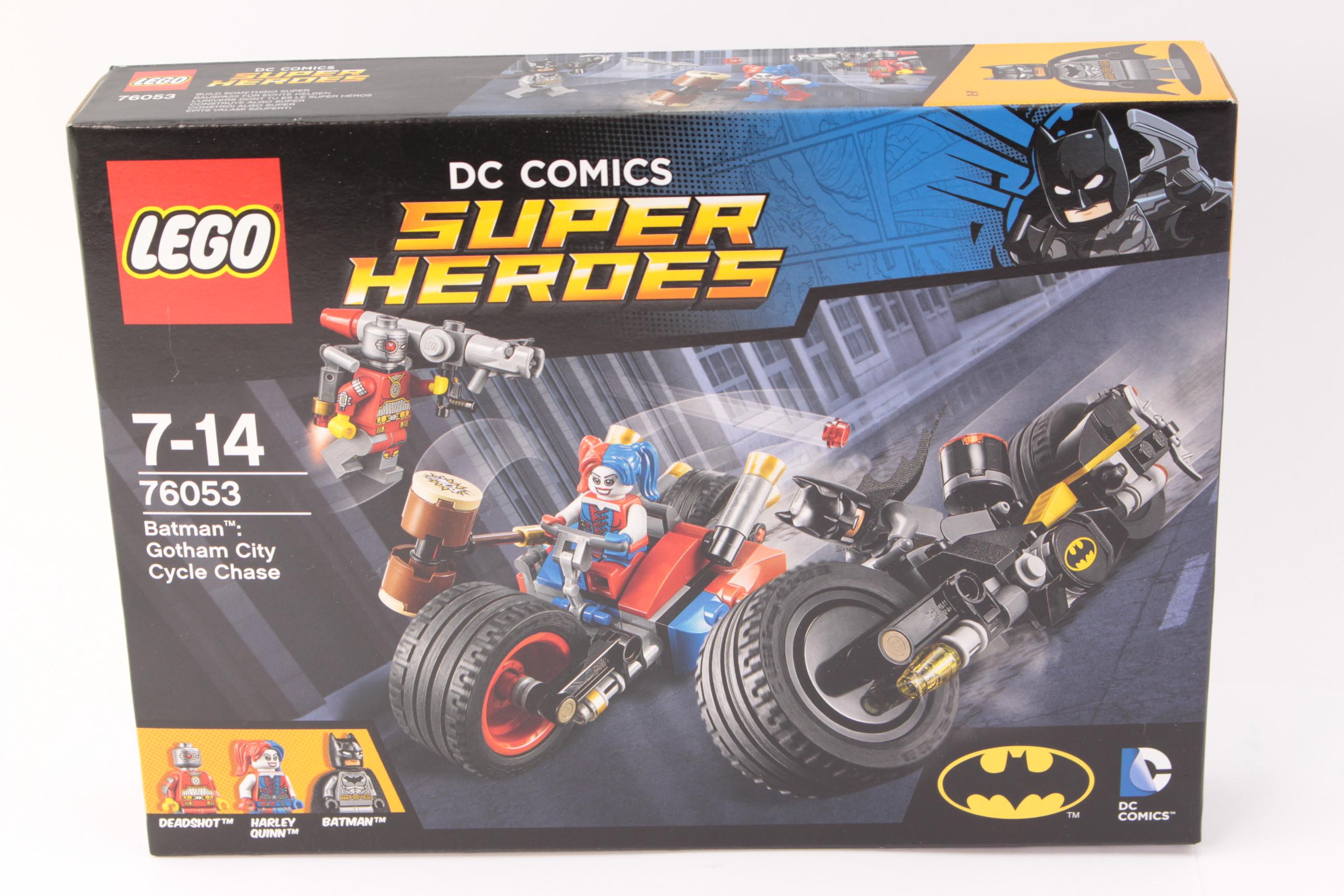 Lego Batman 76053 Gotham City Cycle Chase Harley Quinn Minifigure Free Shipping