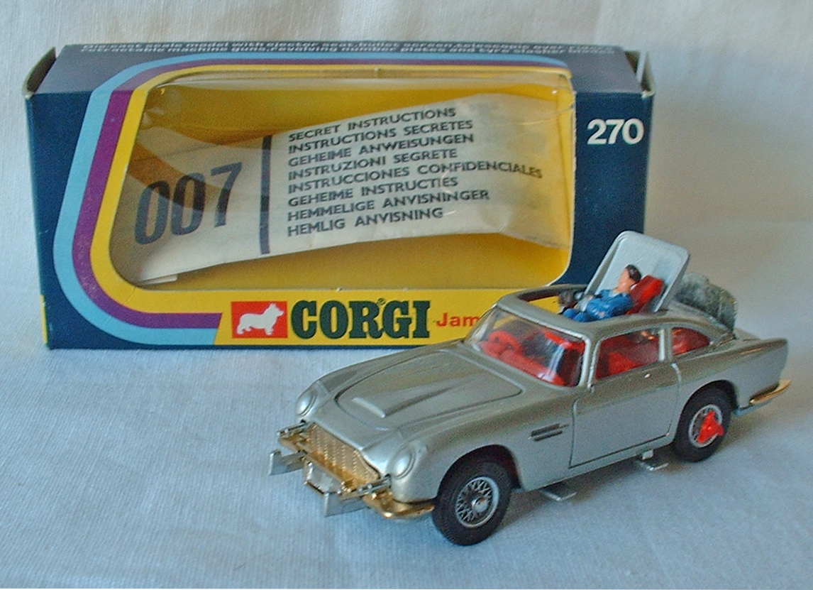 corgi 270, james bond aston martin - buy, sell, review & free