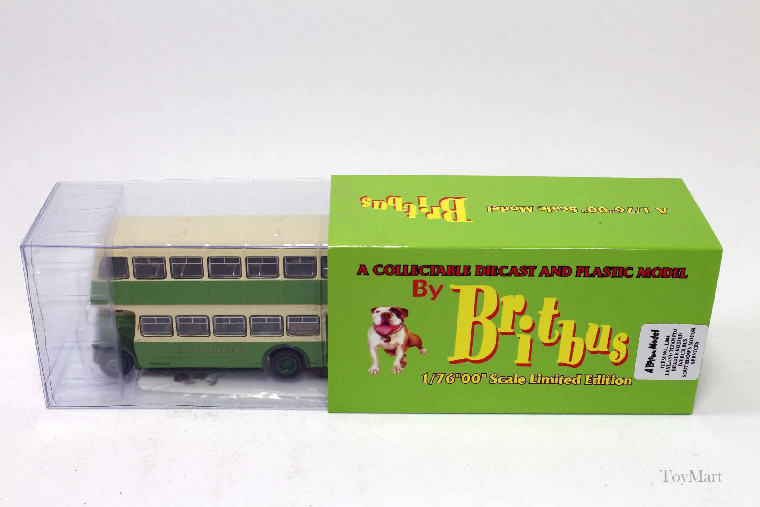 Picture Gallery for Britbus L004 Leyland Titan PD3