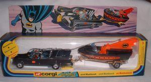 Picture Gallery for Corgi 3 Batmobile & BatBoat