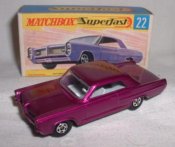 Picture Gallery for Matchbox 22c Pontiac Coupe