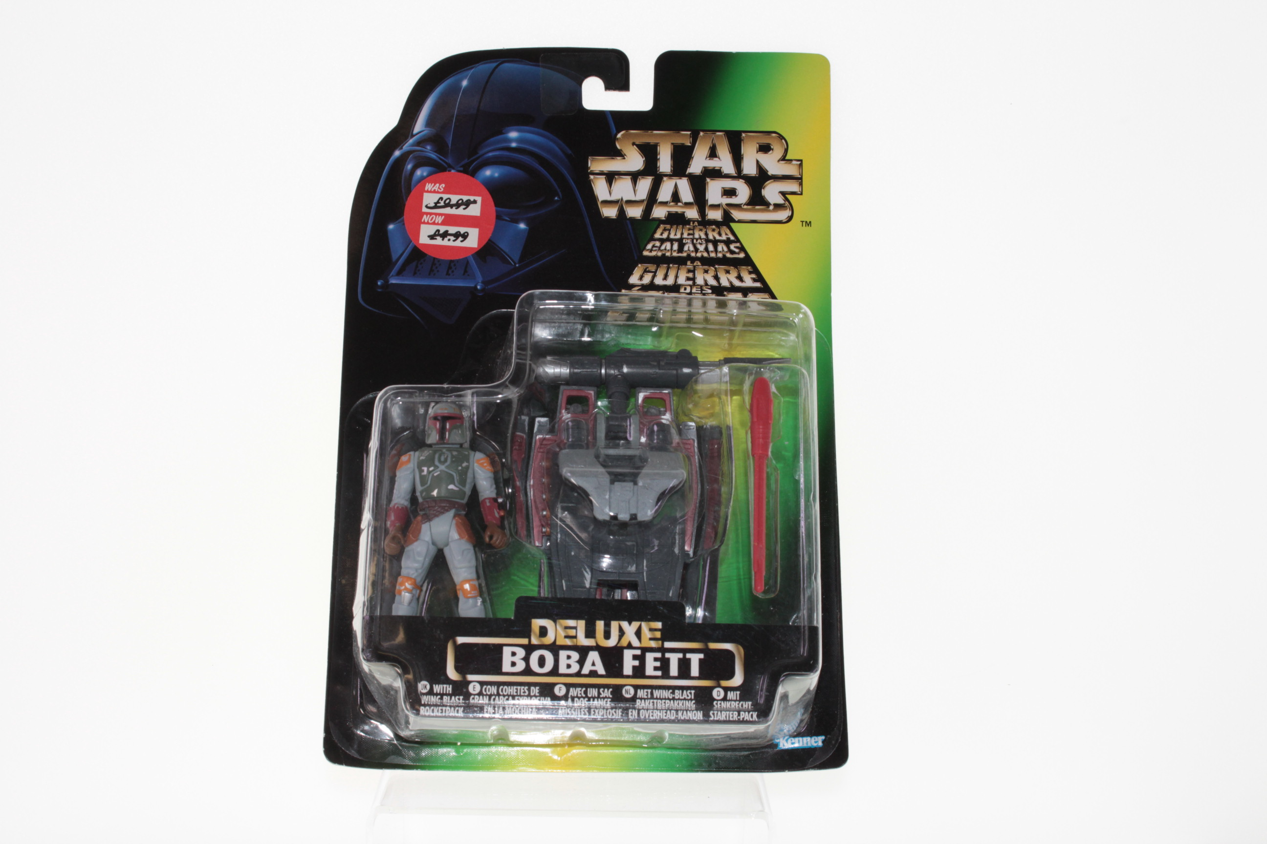 Picture Gallery for Kenner 69638102 Boba Fett Figure