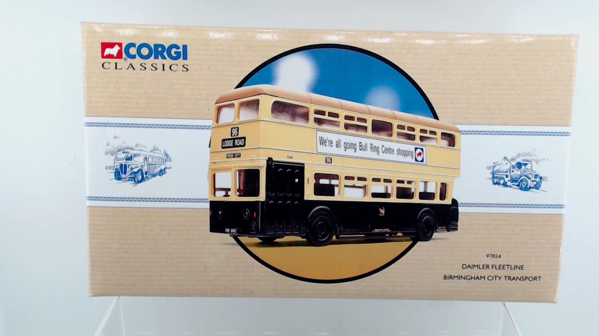 Picture Gallery for Corgi 97824 Daimler Fleetline Bus