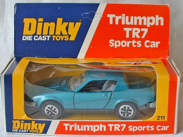 Picture Gallery for Dinky 211 Triumph TR7 Sports Car
