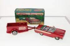 Picture Gallery for SSS Toys S1310 Mercury Convertible with U-Haul Trailer