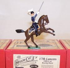 Officer on Rearing Horse