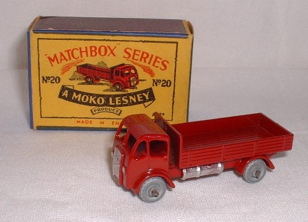 Picture Gallery for Matchbox 20a E.R.F Stake Truck