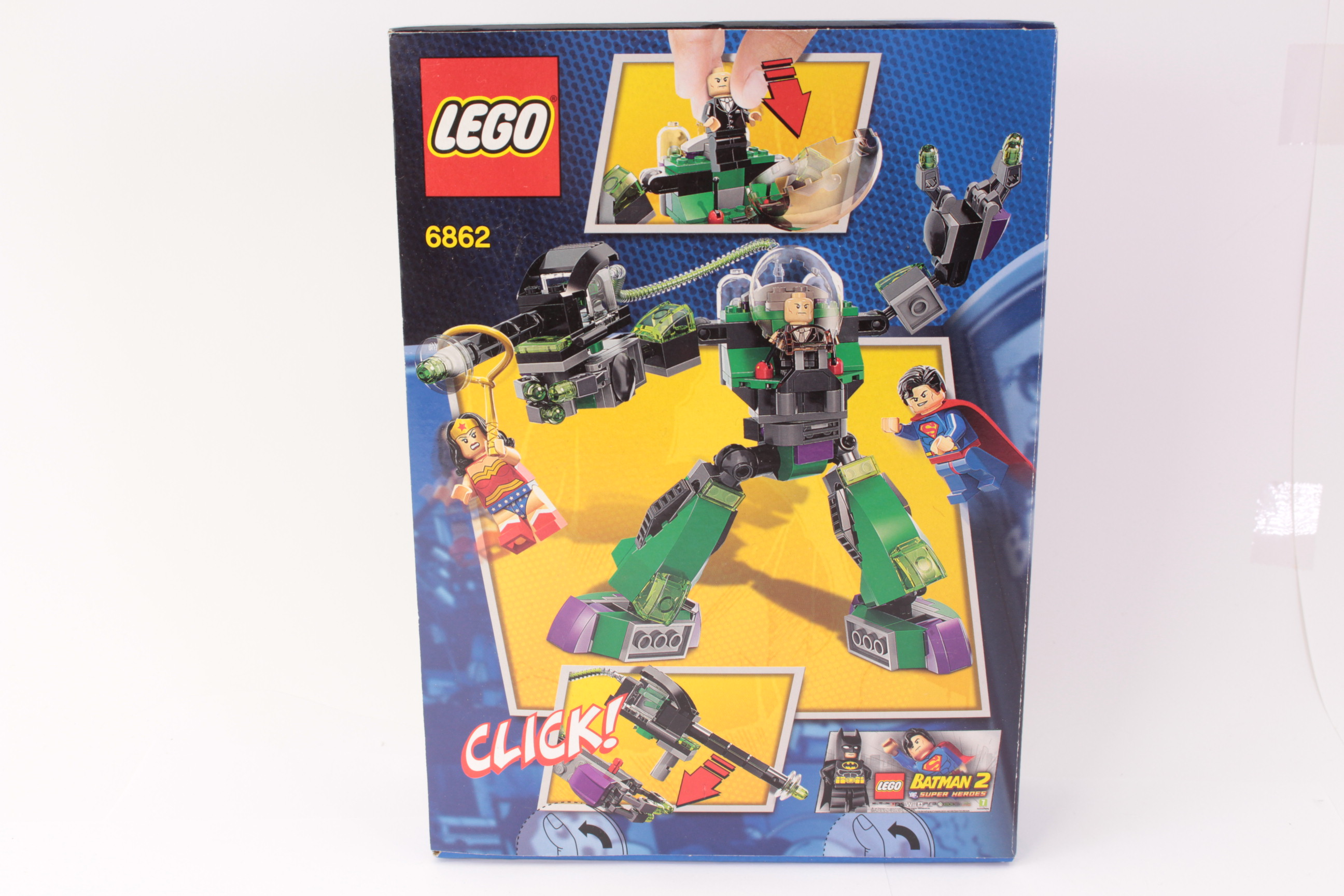 Picture Gallery for Lego 6862 Superman V Lex Luther