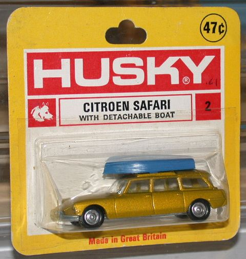 Picture Gallery for Husky 2 Citroen Safari with Boat