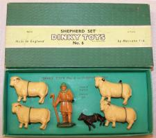 Picture Gallery for Dinky 06 Shepherd Set