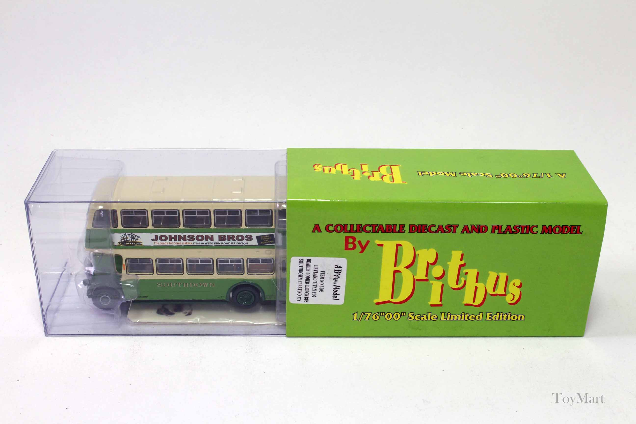 Picture Gallery for Britbus L003 Leyland Titan PD2