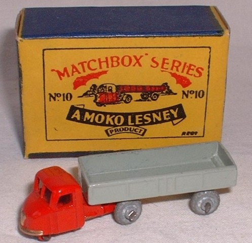 Picture Gallery for Matchbox 10a Scammell Mechanical Horse