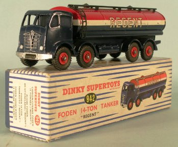 Picture Gallery for Dinky 942 Foden 14 ton Tanker (Regent)