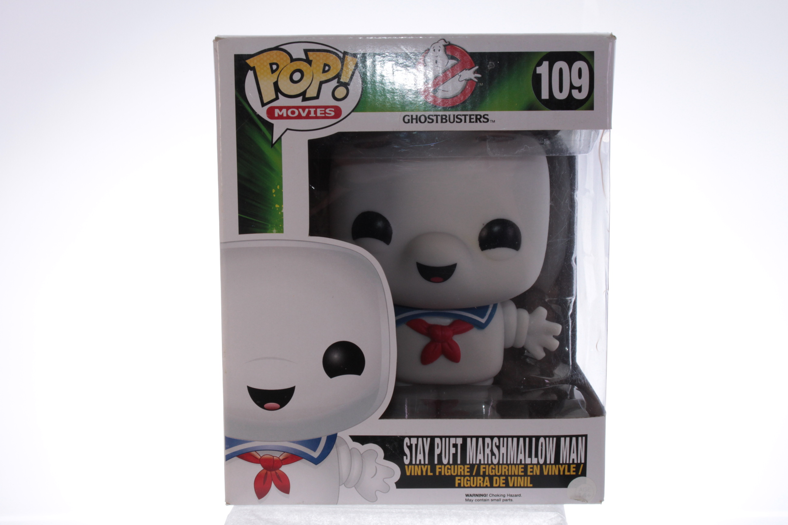 """Ghostbusters Burnt Stay Puft 10/"""" édition spéciale avec Pop Protecteur! Funko POP"""